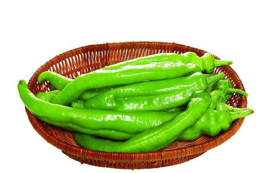Organic green pepper